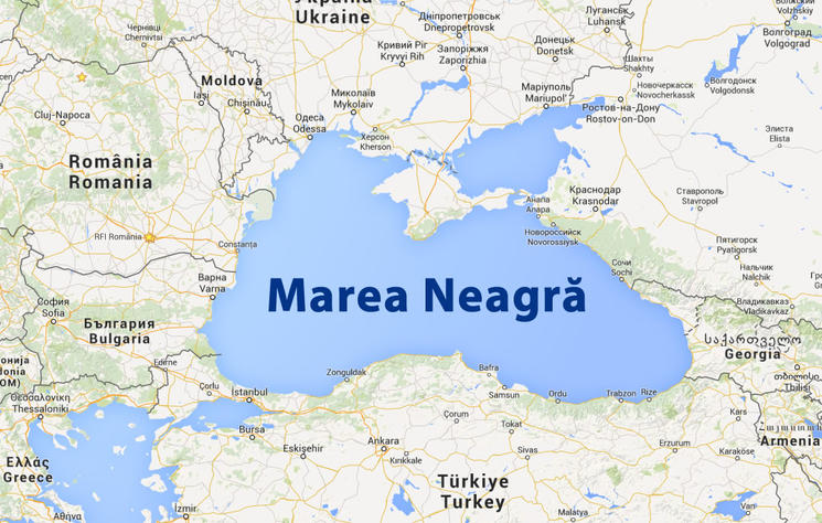 harta marii negre cu vecini