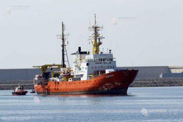 Majoritatea francezilor consideră corectă decizia guvernului de a nu primi într-un port al Franţei nava umanitară Aquarius