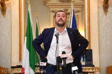 Italia: Salvini anunţă că este anchetat din nou pentru sechestrare de migranţi, în legătură cu cazul Sea-Watch