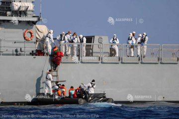 Germania, Italia şi Franţa îi vor prelua pe majoritatea migranţilor de pe nava umanitară Ocean Viking