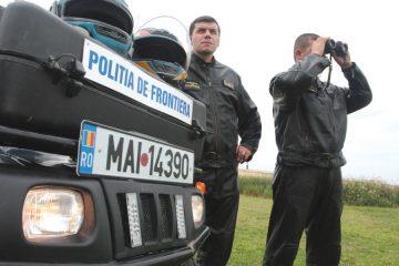Migranţi prinşi când părăseau ilegal România