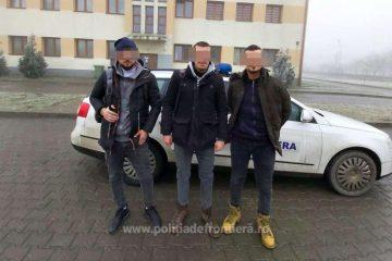 Migranți din Kosovo, prinși de poliția de frontieră, în Timiș, după ce au intrat ilegal în țară